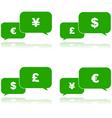 Money talk vector