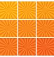 Retro backgrounds vector