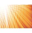 Red yellow rays light 3d mosaic eps 8 vector