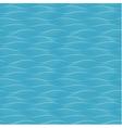 Abstract blue waves seamless background vector