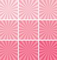 Retro pink background vector
