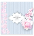 Marriage invitation card with place for text and vector