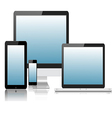 Tablet laptop phone monitor2 vector