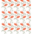 Poppies seamless vector