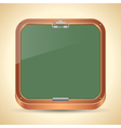 Chalkboard icon vector