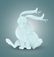 Water rabbit vector