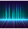 Abstract aurora borealis lights background vector