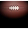 Dark background of rugby ball vector