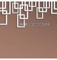 3d trendy geometric background vector