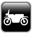 Motorcycle button vector