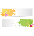 Banners summer vector