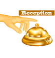 Hotel receptionist vector
