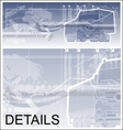 Logistics theme background vector