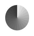 Aperture grey vector