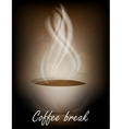 Coffe background vector