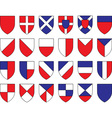 Divisions of the shield vector