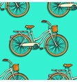 Seamless pattern with colorful hand drawn vintage vector