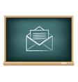 Board post a letter vector