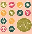 Astronomy icon vector