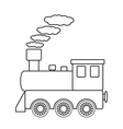 Locomotive sign vector