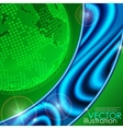 Eco green background vector