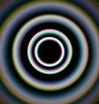 Shiny concentric circles vector