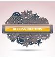 Reconstruction frame vector