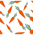 Pattern silhouette carrots vector