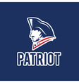 Patriot design template vector