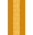 Golden shiny glitter texture vertical border vector