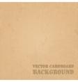 Cardboard grunge paper texture background vector