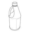 Chemical bottle vector