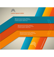 Horizontal page brochure cover lines background vector