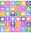 Basic icons set apps smartphone sign icon vector