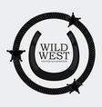 Western design vector