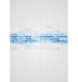 Blue technical elements on grey background vector