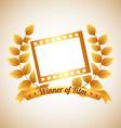 Film award vector