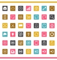 Set of 42 seo internet icons vector