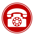 Phone button vector