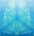 Abstract geometrical blue background vector