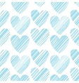 Seamless pattern with bright hand drawn grunge vector