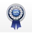 Satisfaction guarantee label eps 10 vector
