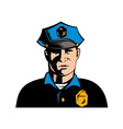 Policeman police officer vector