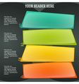 Infographics form options workflow black vector