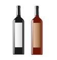 Wine bottle vector
