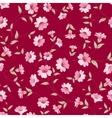 Flower samless pattern vector