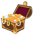 Treasure chest vector