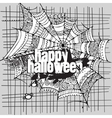 Abstract halloween grunge design card vector