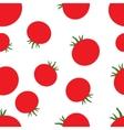Pattern silhouette tomato vector