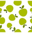 Pattern silhouette apples vector